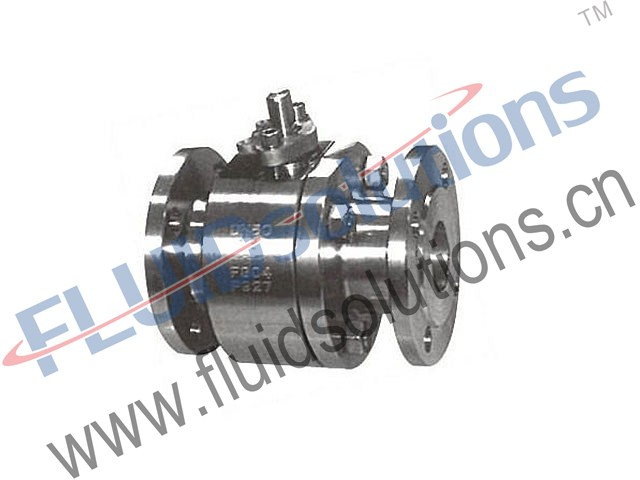 Forged-Steel-3PCS-Flanged-Ball-Valves