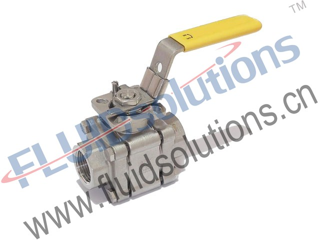 Forged-Steel-Threaded-Ball-Valve