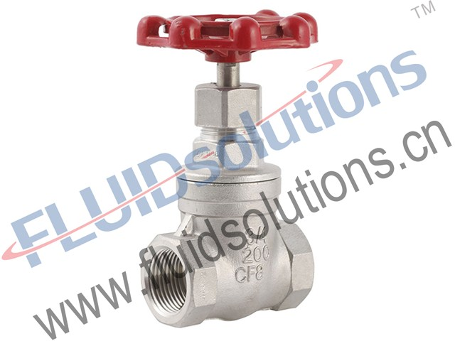Stainless-Steel-Screwed-Gate-Valve