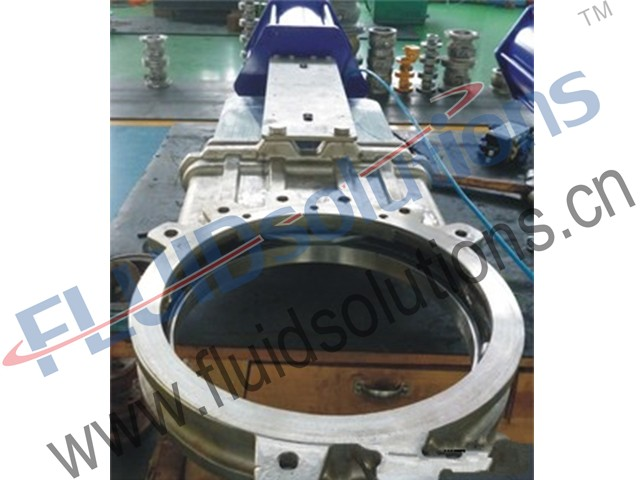 Resilient Seat Wafer Knife Gate Valve
