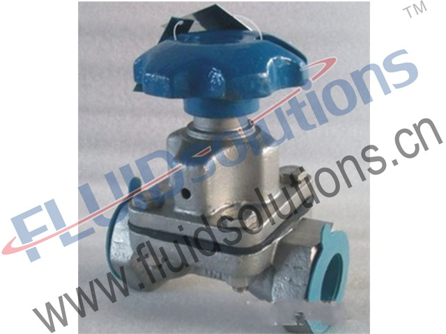 Thread Weir Diaphragm Valve