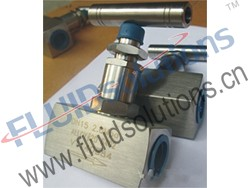 Thread Screwed Bonnet Needle Valve